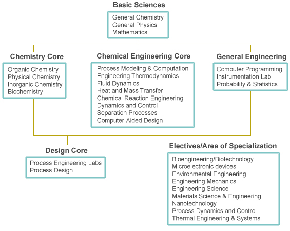 Chemical Engineering Undergraduate Major Requirements